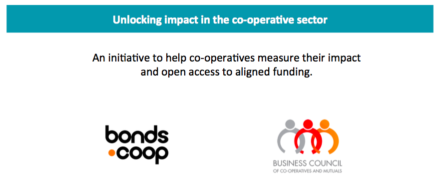 Unlocking co-operative impact